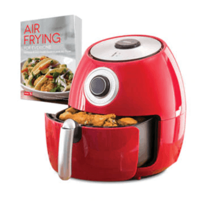 Belk: Dash 6 Quart Family Air Fryer with Cookbook $49.00 (Reg $129.99) + Free Shipping