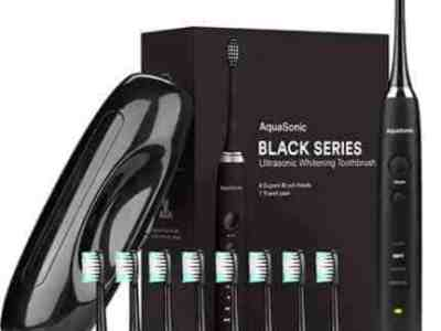 Amazon: AquaSonic Black Series Ultra Whitening Toothbrush for $26.00 (Reg. Price $36.95)
