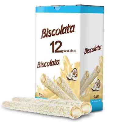 Amazon: Biscolata Rolled Wafers Snacks 80% Off W/Code + Coupon