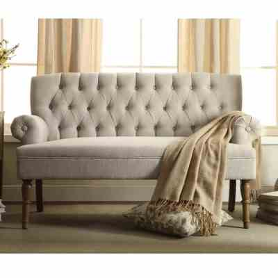 """WAYFAIR: Bjorn 59"""" Rolled Arm Settee For $289.99 At Reg.$1,299.99 FREE SHIPPING"""