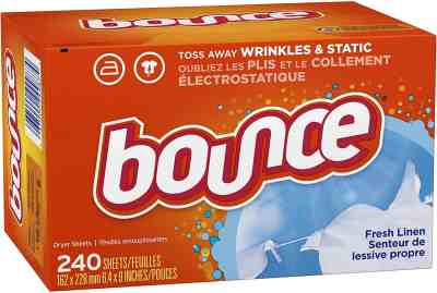 Amazon: Bounce Fresh Linen Scented Fabric Softener Dryer Sheets, 240 Count, 2 QTY for $12.88 (Reg. Price $17.88)