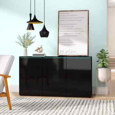 "Wayfair: Euphoria 59"" Wide 3 Drawer Sideboard For $489.99 At Reg.$529.99"