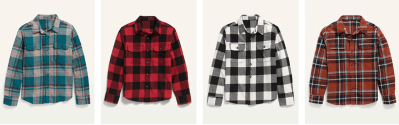 Old Navy: Save 50% OFF on Flannel Shirts – Today Only!