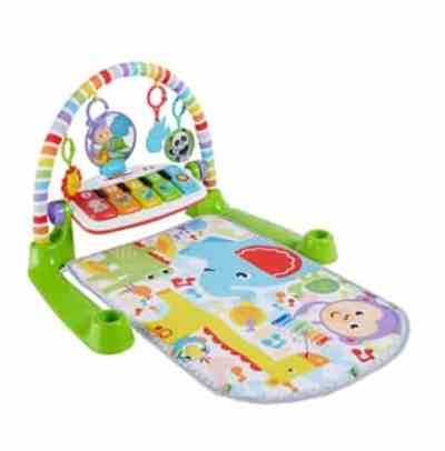 Amazon: Fisher-Price Deluxe Kick 'n Play Piano Gym for $24.99 (Reg. Price $49.99)