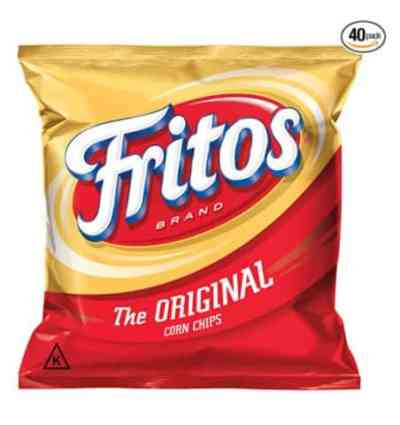 Amazon: Fritos Original Corn Chips, 1 Ounce (Pack of 40), Just $14.43 (Reg $16.98)