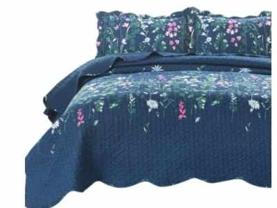 Amazon: Full/Queen Size Quilt Set Coverlet for $23.49 (Reg. Price $46.99)
