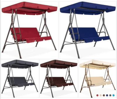 BCP: 2-Person Outdoor Canopy Swing Glider For $109.99 (Reg $199.99)
