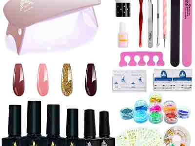 Amazon: Gel Nail Starter Kit for $19.99 (Reg.Price $29.99) after coupon!
