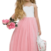 Amazon : Girls Dresses Tulle Princess Dress Just $9.99 W/50% Off Coupon (Reg : $19.90)