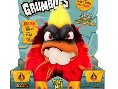 Amazon: Grumblies Scorch, Red for $7.50 (Reg $19.99)