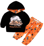 Amazon: 2PCs Outfit Set Happy Halloween for $6.98-7.98
