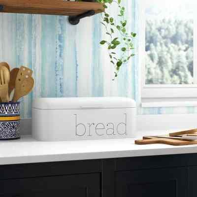 Wayfair: Hartsock Metal Bread Box Now $52.99