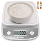 Amazon: Digital Kitchen Scale by ZERLA, Multifunction Food Scale $8.39 ($14)