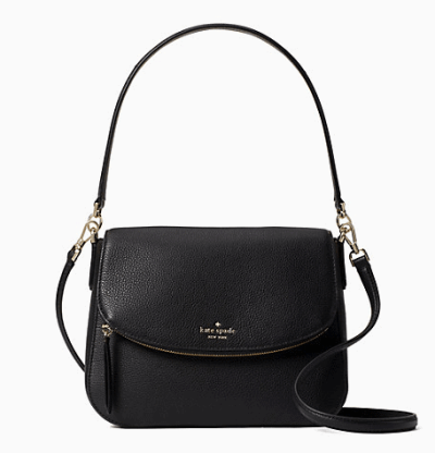 Kate Spade: jackson medium flap shoulder bag $89!!(Reg. $379)