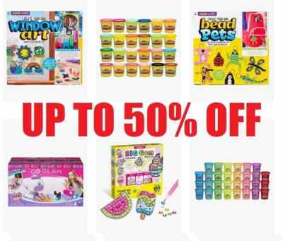 Amazon: Kids Arts & Crafts, Up to 50% off!