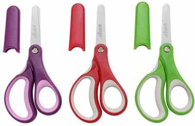 "Amazon: LIVINGO 5"" Left and Right Handed Kids Scissors, Safety Blunt Tip Sharp, Just $6.79 (Reg $9.99)"