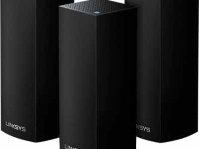 BESTBUY: Linksys - Velop AC2200 Tri-Band Mesh Wi-Fi 5 System (3 Pack) - Black For $199.99 At Reg.$399.99