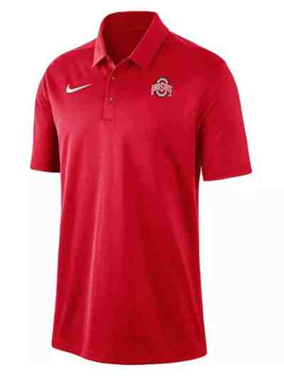 Kohl's: Men's Nike Ohio State Buckeyes Franchise Polo For $25.00 At Reg. $50.00