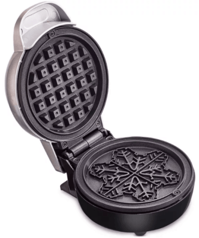 Macy's: Bella-Mini-Waffle-Maker-Snowflake-Silver For $8.99 At Reg.$19.99 w code