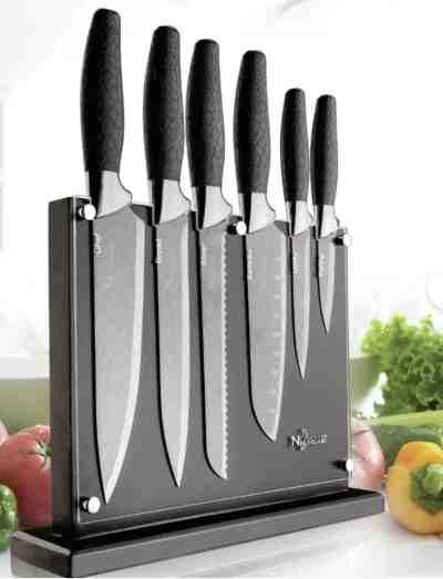 Wayfair: New England Cutlery 7 Piece Knife Block Set For $46.99 At Reg.$89.99