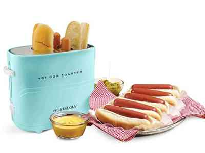 Amazon: Nostalgia Pop Up Hot Dog Toaster, 2 Dog & Bun for $9.99 (Reg. Price $19.99)
