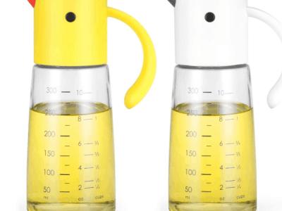 Amazon: 2pk Olive Oil Dispenser Bottle, Condiment Container $11 ($22)