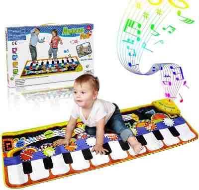 Amazon: RenFox Kids Musical Mats, Music Piano Keyboard Dance Floor Mat, Just $19.99 (Reg $39.99)