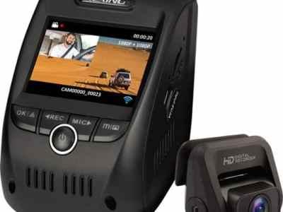 BESTBUY: Rexing - V1P Pro Plus Front and Rear Dash Cam - Black $149.99 At Reg.$199.99