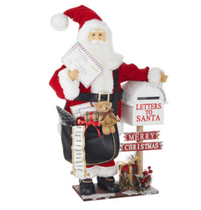 Belk: 25-Inch Santa with Mail ONLY $60 (Reg $200)