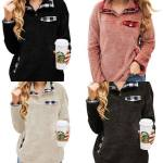 Amazon: Women's Sherpa Pullover Sweatshirts for $20.99