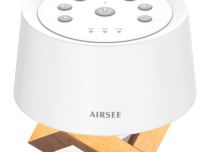Amazon: AIRSEE Sound Machine & Night Light for $11.49