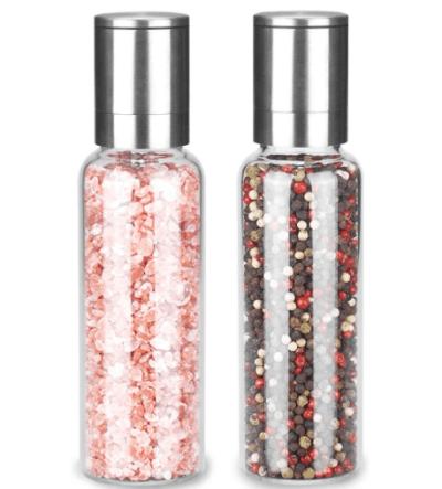 Amazon: Vevok Chef Salt and Pepper Grinder Set for 9+