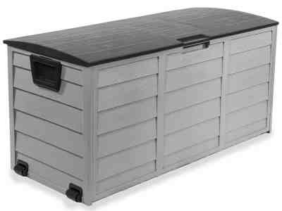 Walmart: 63-Gallons Patio Storage Box Container with Built-in Wheel $109.95 (Reg $299.95)