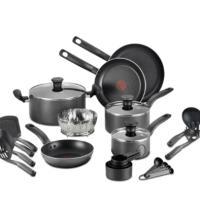 Macy's: 18-Pc. Nonstick Cookware Set for $49.99!!(Reg. $179.99)