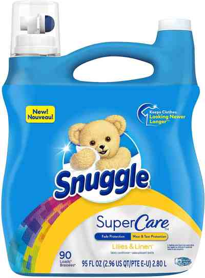 Amazon: Snuggle SuperCare Liquid Fabric Softener, Just $5.47 each when you buy 2!