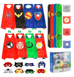 Amazon: Superhero Capes Halloween Cosplay Costume Only $12.49 W/Code (Reg. $24.99)