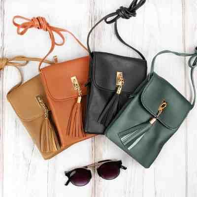 JANE: Tassel Crossbody Bag For $8.99 At Reg.$30.00