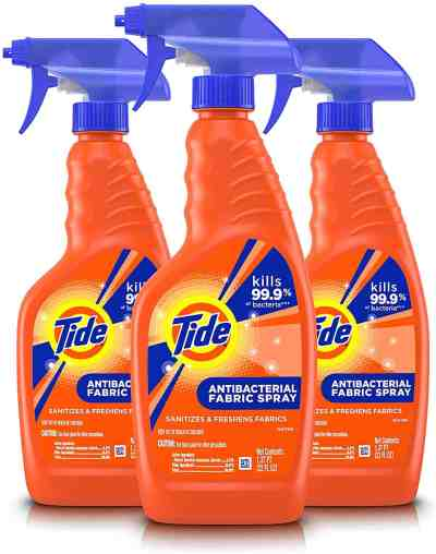 Amazon: Tide Antibacterial Fabric Spray, 3 Count, 22 Fl Oz Each for $16.02