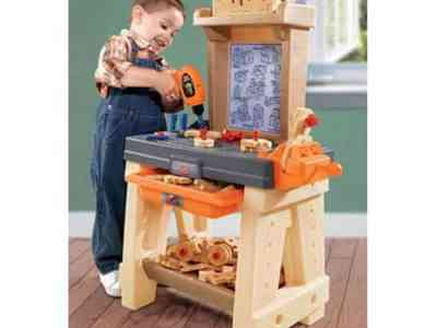 Walmart: Step2 Real Projects Workshop and Tool Bench with 65 Part Accessory Set $69.99 (Reg $87.00)