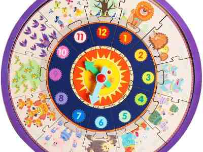 Amazon: Wooden Educational 25 PCs ClockAmazon: Wooden Educational 25 PCs Clock Jigsaw Puzzle Toddler Game Toys, Just $5.75 Jigsaw Puzzle Toddler Game Toys, Just $5.75