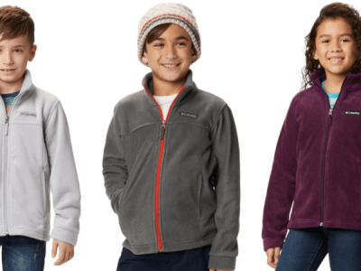 Columbia: Fleece Jackets for Kids only $12 - Sizes XXS - XL
