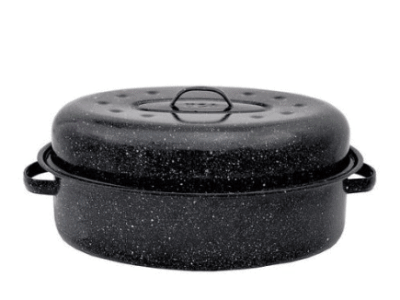 Walmart: Columbian Home Products 18″ Black Oval Roaster for $12.76 Free Store Pickup! (Reg .$37.35)