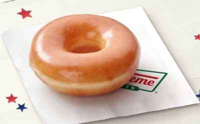 FREE Krispy Kreme Original Glazed Doughnut on Election Day