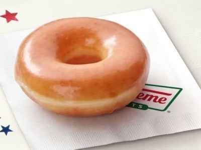 FREE Krispy Kreme Original Glazed Doughnut on Election Day