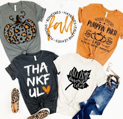 JANE: Fall Pumpkin Style Tops just $17.98 shipped!