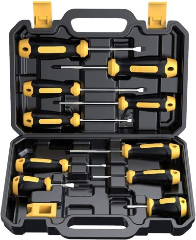 Amazon: 10 PCS Magnetic Screwdriver Set Only $12.74 (Reg. $24.99)