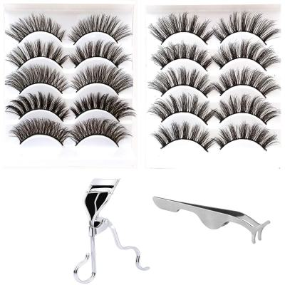 Amazon: 10 Pairs 3D 5 Styles Natural False Eyelashes Set Only $5.84 W/Code (Reg. $8.99)
