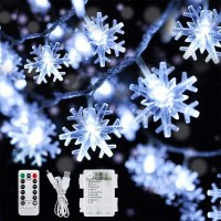 Amazon: 16.4ft 50 LED Battery Operated Fairy String Lights for $4.89 (Reg.Price $13.98)