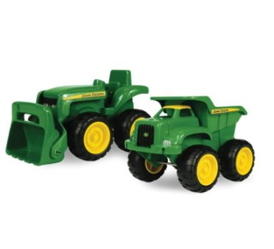 Amazon: 2 Pack John Deere Sandbox Vehicle for $8.97 (Reg. Price $12.99)