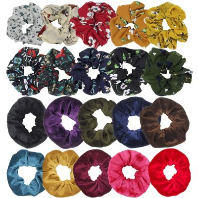 Amazon: 20 Pack Hair Scrunchies Set for $4.99 (Reg.Price $9.99) after code!